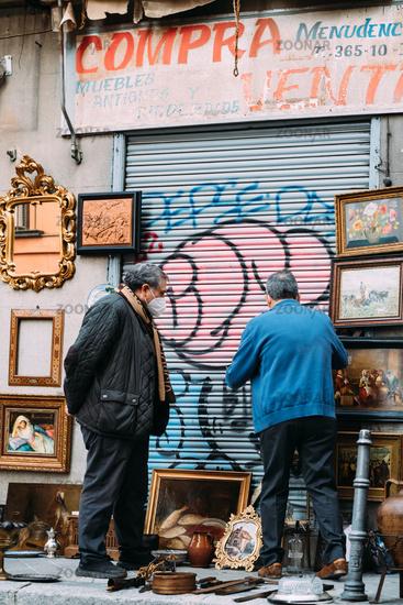 Pop Up Store in Lavapies quarter in Madrid