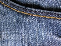 blue jeans fabric as a background