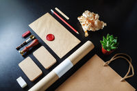 Retro stationery set