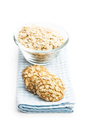 Cereal oatmeal cookies.