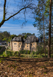 Bourglinster castle in Luxembourg