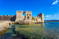 Port Methoni in the Greek Mediterranean