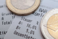 sales tax 16% in Germany