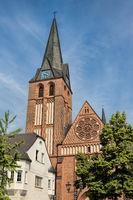 bitterfeld, germany - 19.06.2019 - st. -antonius- church