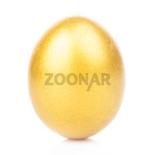 golden egg isolated