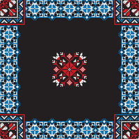 Romanian traditional pattern 198