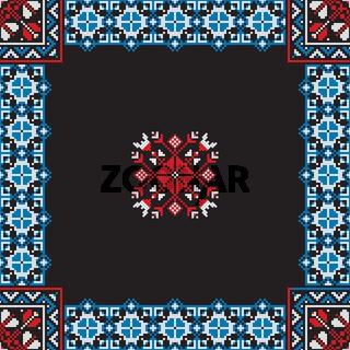 Romanian traditional pattern 198