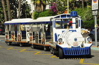 Tourist road train Fuengirola