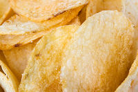 Potato chips, background