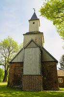Village church Staffelde, Oberhavel, Brandenburg, Germany