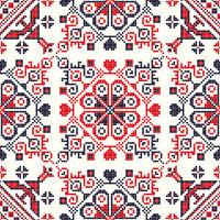 Romanian traditional pattern 92