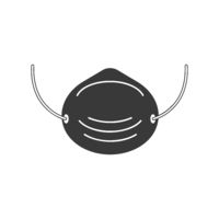 Dust Mask Icon Vector