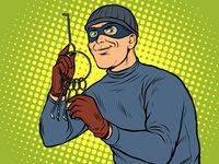 Thief with a bunch of lockpick keys
