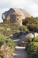 Cote de Granit hiking path