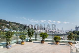 beautiful lanzhou city landscape