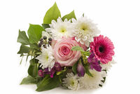 Bouquet of flowers isolated