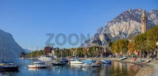 Boats at Lake Como