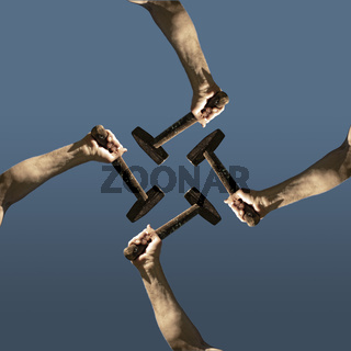teamwork art