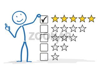 Stickman 5 Stars Rating