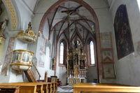 Interior decoration of the parish church St. Leonhard