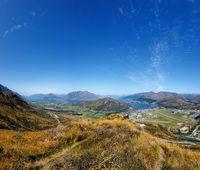 Queenstown, Lake Wakatipu, South Island, New Zealand, Oceania.