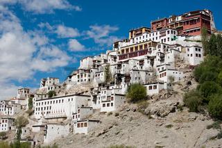 Buddhist heritage, Thiksey monastery. India