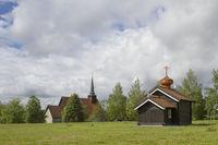 St. Olav chapel in Stiklestad
