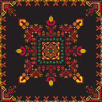 Romanian traditional pattern 221