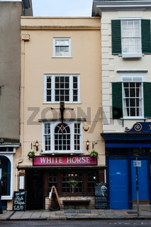 White Horse Pub, Broad Street, Oxford, England