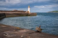 The West Pier in Whitehaven, Cumbria, England