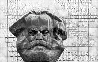 Karl - Marx - Monument in Chemnitz