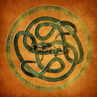 Serpent Celtic Knot