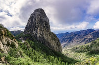 Roque de Agando on La Gomera