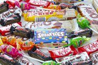 Calgary Alberta, Canada. Oct 16, 2020. Several popular candy brands during halloween.