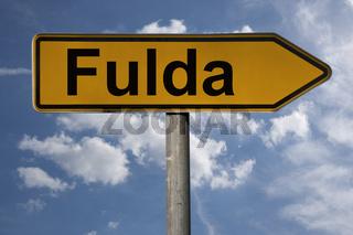 Wegweiser Fulda | signpost Fulda