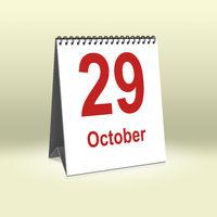 October 29th | 29.Oktober