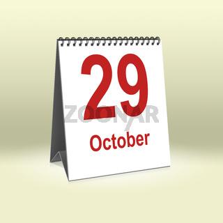October 29th   29.Oktober