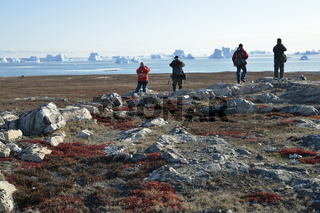 Fotografen, Sydkap, Scoresby Sund, Ost-Grönland