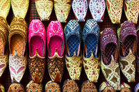 Arabian babouches shoes