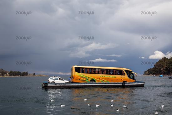 Lake Titicaca Ferry Crossing