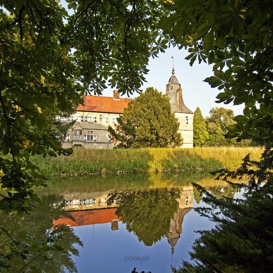 Westerwinkel, moated castle, Ascheberg, Germany