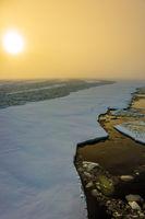 Arctic in winter