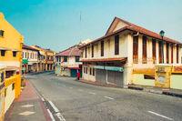 Streets of Malacca city, Malaysia