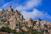 Historical Saint Hilarion Castle in Kyrenia region - Northern Cyprus