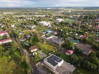 Volosovo, Leningrad Region, Russia. Aerial photo