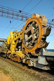 rotor excavator