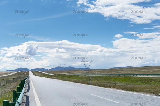highway across the wilderness