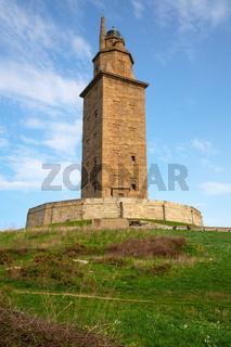 Torre de Hercules, A Coruna, Galicia, Spain