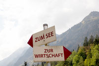 Signs in Allgaeu. 020