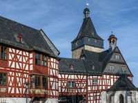 Old Town Bad Camberg with Half-Timbered Houses, Hesse, Germany